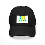 I LOVE NERDY BOYS T-SHIRT SHI Black Cap