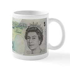 5 Pounds Note Mugs