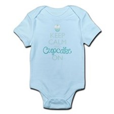 Keep Calm and Cupcake On Body Suit