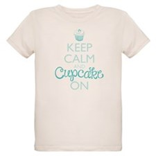 Keep Calm and Cupcake On T-Shirt