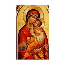 Mary The God Bearer Decal