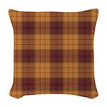 Tartan - Ulster dist. Woven Throw Pillow