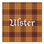 Tartan - Ulster dist. Square Car Magnet 3