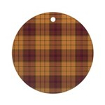 Tartan - Ulster dist. Ornament (Round)