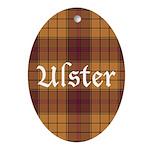 Tartan - Ulster dist. Ornament (Oval)