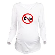 ohio.jpg Long Sleeve Maternity T-Shirt