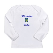 Long Sleeve Ukrainian Tryzub T-Shirt