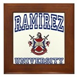 RAMIREZ University Framed Tile