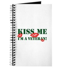 Kiss Me I'm A Veteran Journal