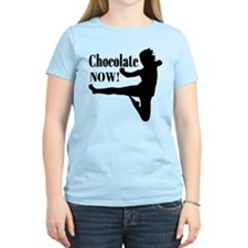 Chocolate Now - Black Silhouette T-Shirt