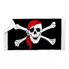 Pirate flag Beach Towel
