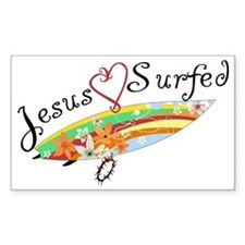 AO's Heart from Jesus Surfed A Decal