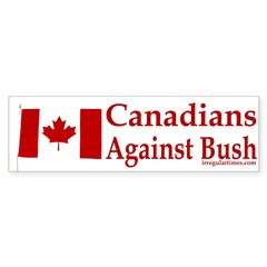 Canadians Against Bush (Sticker)