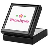 "Pink Daisy - ""Monique"" Keepsake Box"