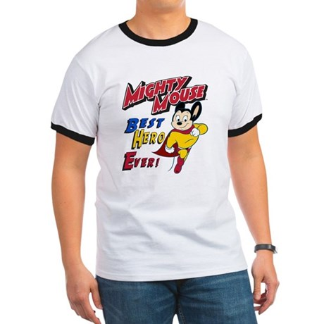 Mighty Mouse Best Hero Ringer T