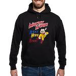 Mighty Mouse Best Hero Hoodie (dark)
