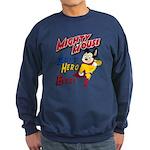 Mighty Mouse Best Hero Sweatshirt (dark)