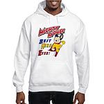 Mighty Mouse Best Hero Hooded Sweatshirt