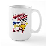 Mighty Mouse Best Hero Large Mug