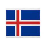 Iceland Fleece Blankets