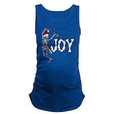 Skeleton Santa - Joy Maternity Tank Top