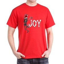 Skeleton Santa - Joy T-Shirt