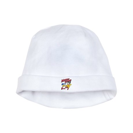 Mighty Mouse Best Hero baby hat