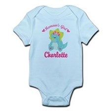 Personalized Memaws Girl Dino Body Suit