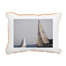 sailing Rectangular Canvas Pillow