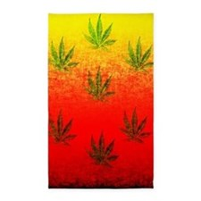 Marijuana Sunrise 3'x5' Area Rug