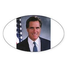 Mitt Romney Oval Decal