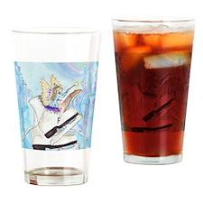 Imagination Fairy Skating Drinking Glass