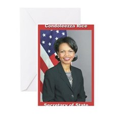 Condoleezza Rice Greeting Cards (Pk of 10)
