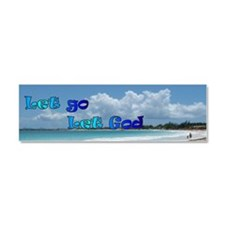 Let God Car Magnet 10 x 3