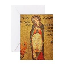 St Catherine of Alexandria Greeting Card