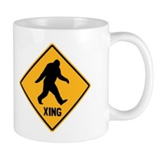 Bigfoot Crossing Small Mug