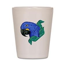 Hyacinth Macaw Shot Glass