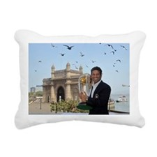 Sachin Tendulkar Rectangular Canvas Pillow
