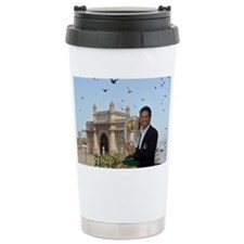 Sachin Tendulkar Ceramic Travel Mug