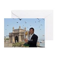 Sachin Tendulkar Greeting Card