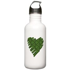 Green Leaves Water Bottle