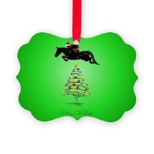 grand_prix_jumper_christmas_sq Ornament