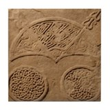 Weathered Pictish Stone Coaster