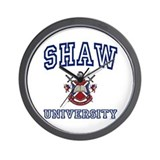 SHAW University Wall Clock