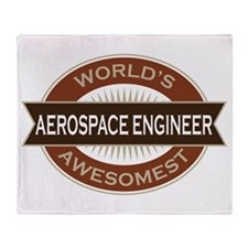 Aerospace Engineer (Awesome) Throw Blanket