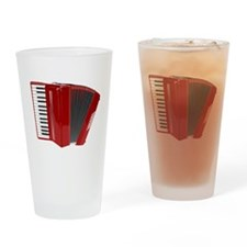 Musical Accordion Drinking Glass