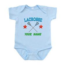 Lacrosse Personalized Star Infant Bodysuit