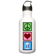 Peace Love Milk Water Bottle