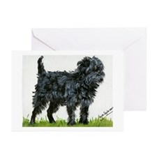 Affenpinscher Dog Greeting Cards