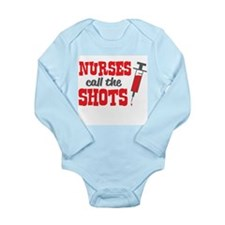 Nurses Call The Shots Body Suit